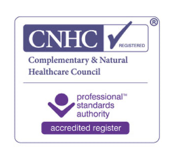Complementary & Natural Healthcare Council accredited registered